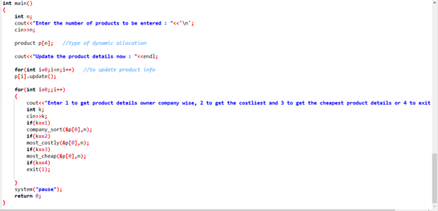 Final Part of Code (The User Interaction Part)