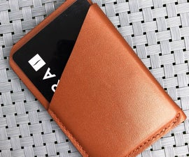 Minimalist Leather Wallet/Card Holder