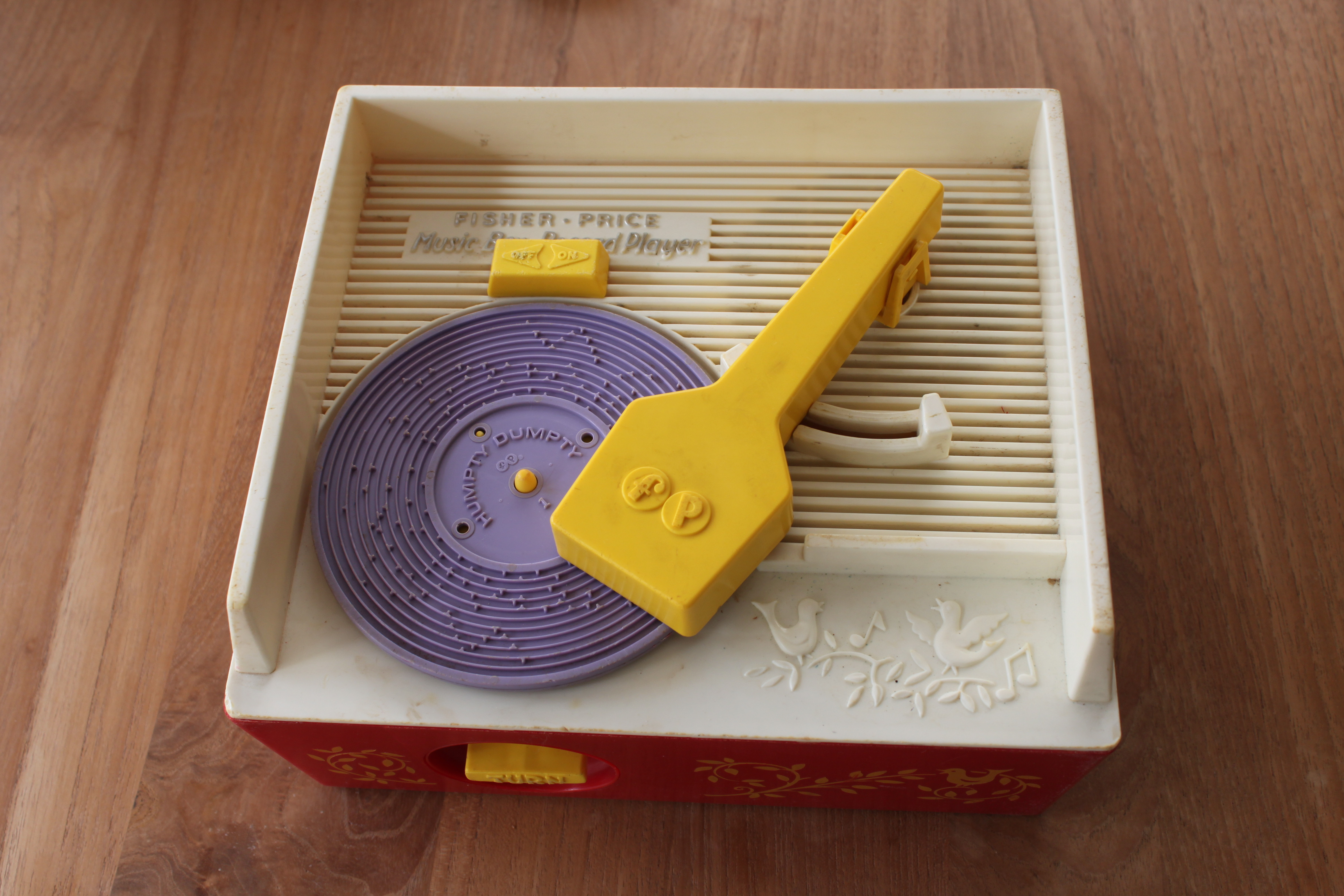 Custom records for a 70's toy record player