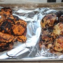 Zesty Grilled Chicken and Yams
