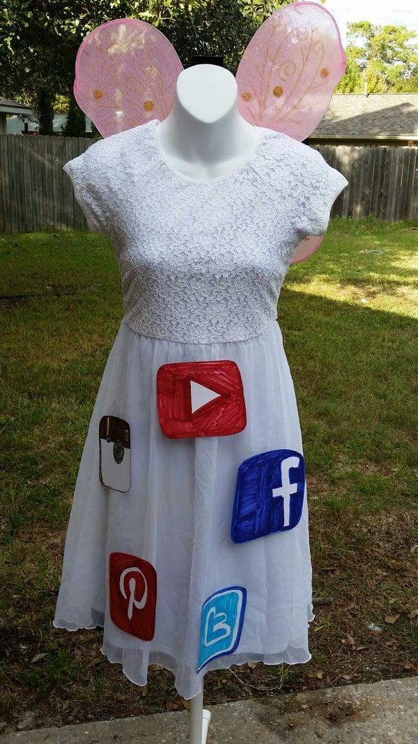 Halloween Costume: Social Butterfly