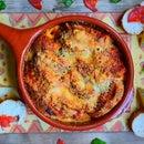 Spanish Savoury Bread Pudding