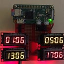 Raspberry Pi Amateur Radio Digital Clock