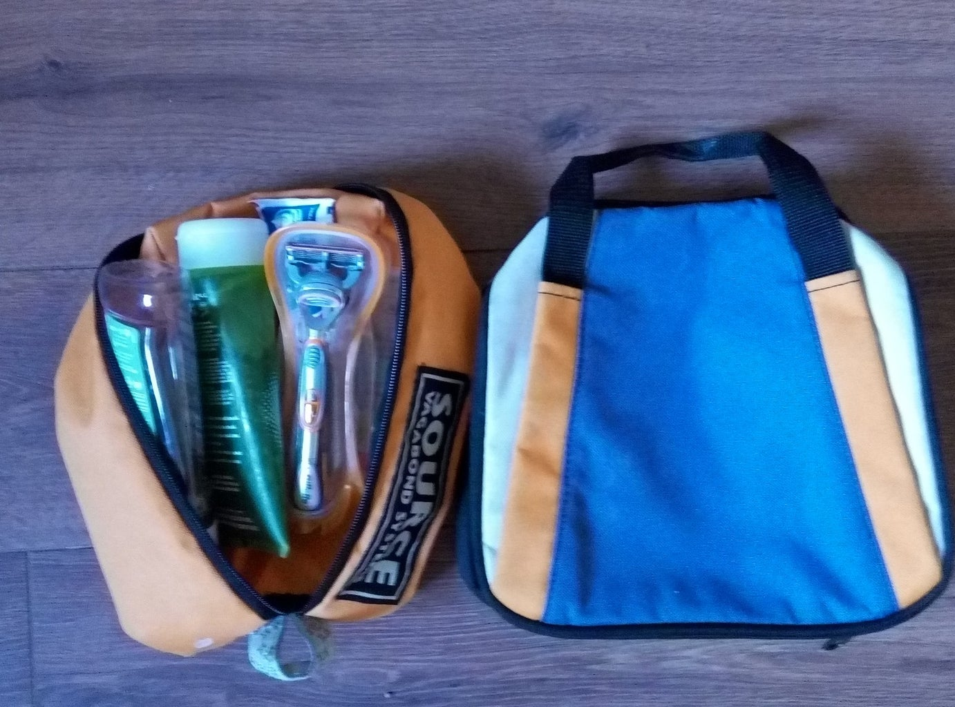 Get Rid of the Ridiculously Huge Toiletries' Bag