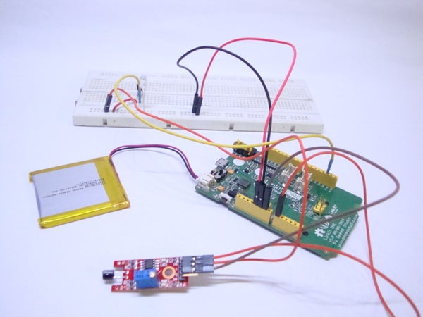 Linkit ONE Touch LED