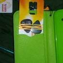 Compact guitar pick case/clip