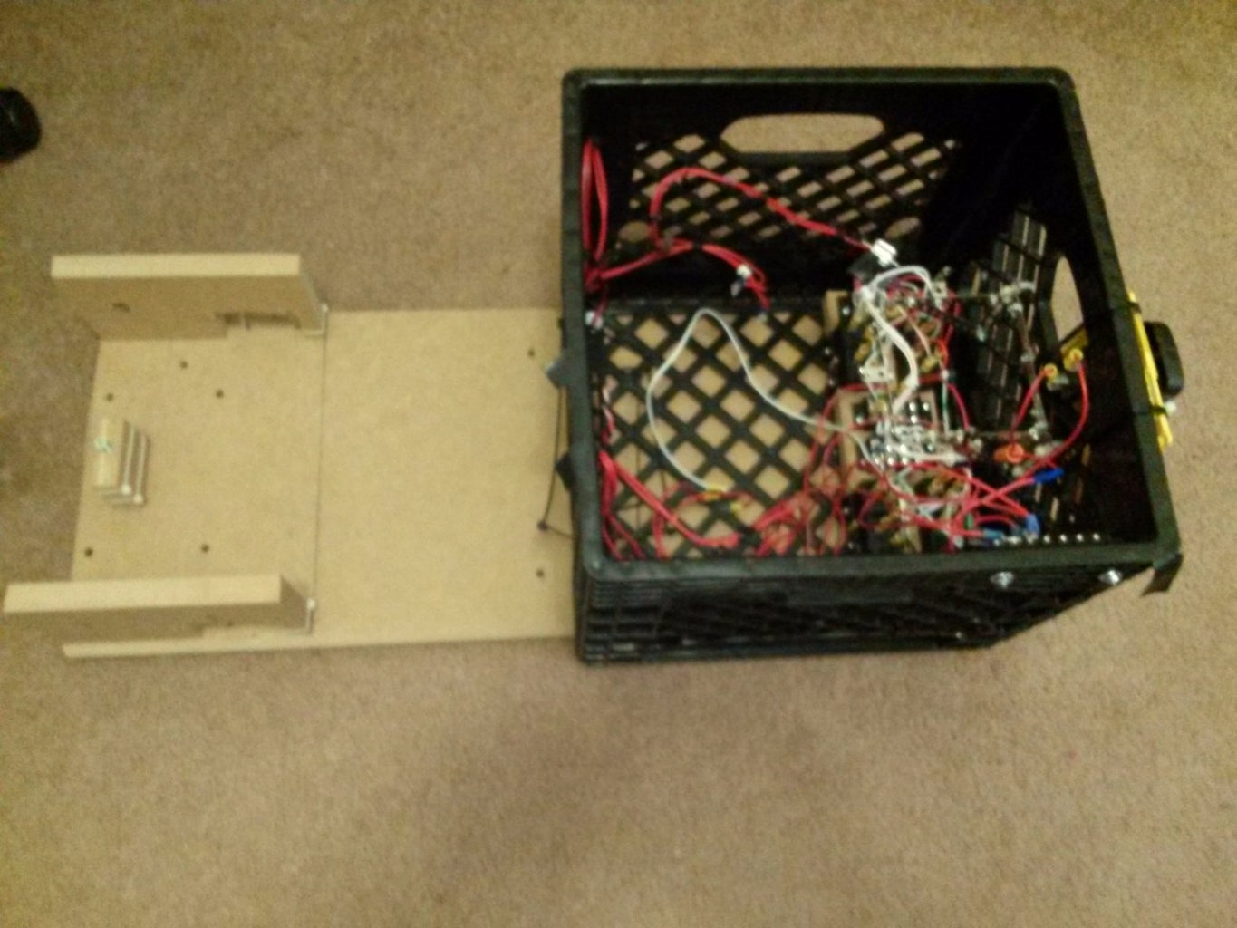 H Bridges and Crate Power Control Box Assembly