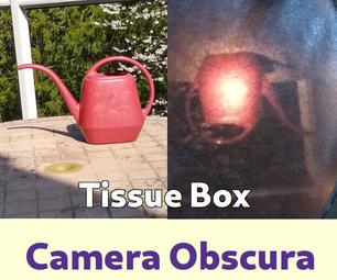 Tissue Box Camera Obscura