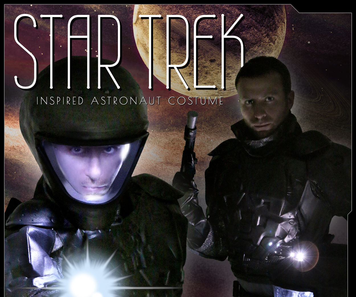 Star Trek Inspired LED Astronaut Costume DIY