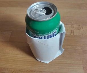 Oragami Beer Koozie