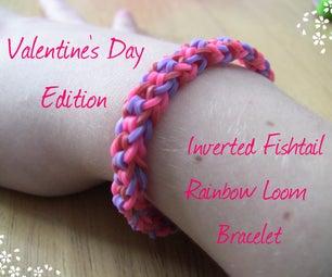 DIY V-Day Inverted Fishtail Bracelet