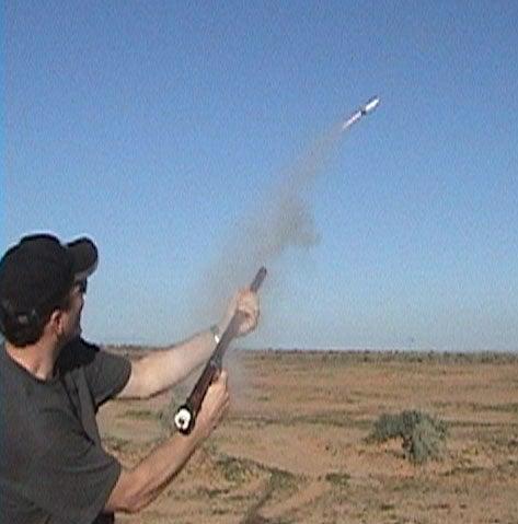 Handheld Rocket Launcher!!