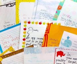迪士尼之旅揭示:来自迪士尼人物的信件