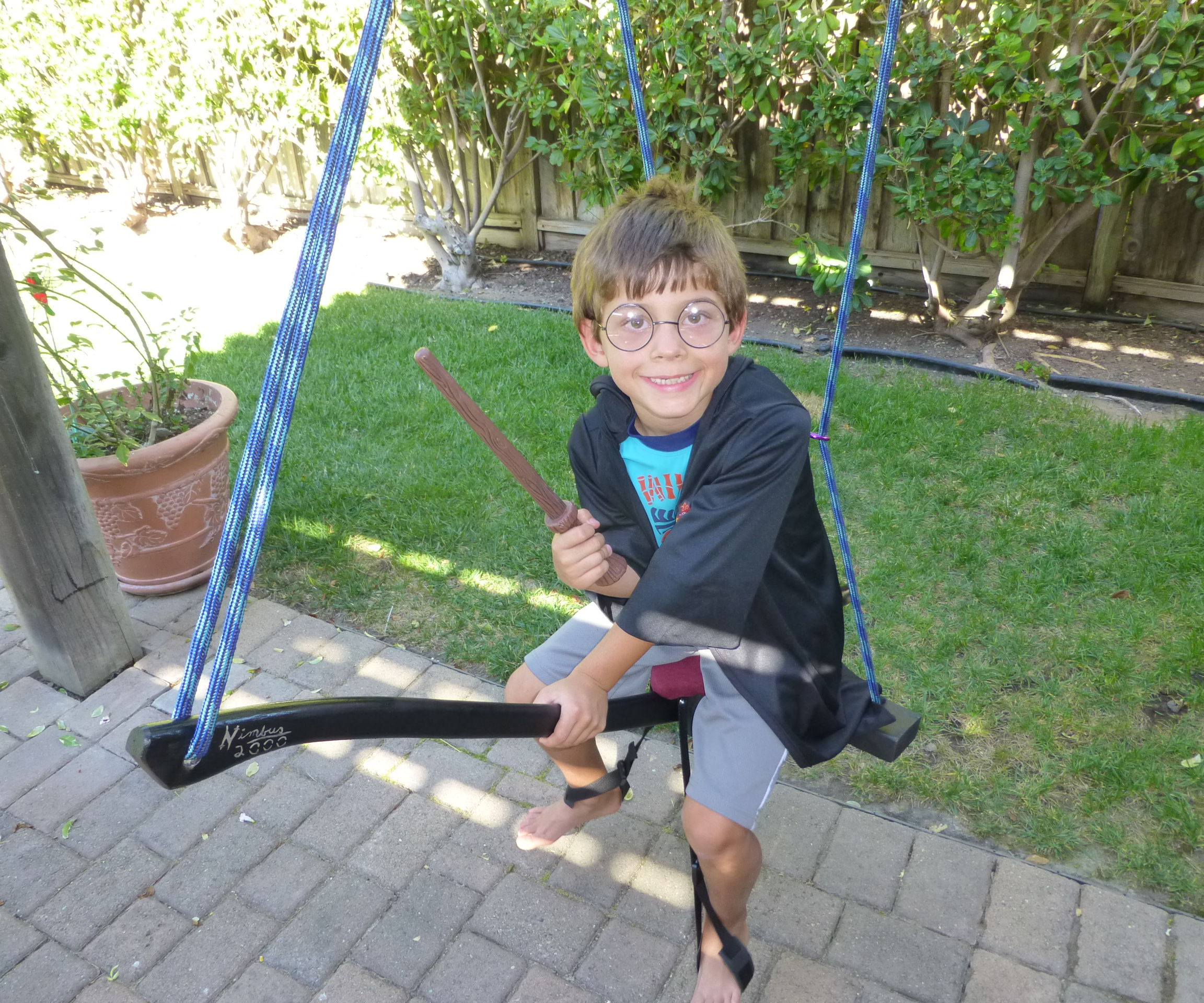 Harry Potter Flying Broomstick