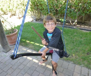 Harry Potter Flying Broomstick