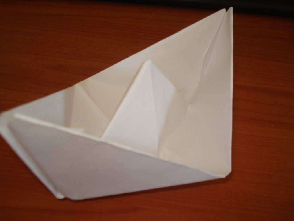 Easy paper boat(video)