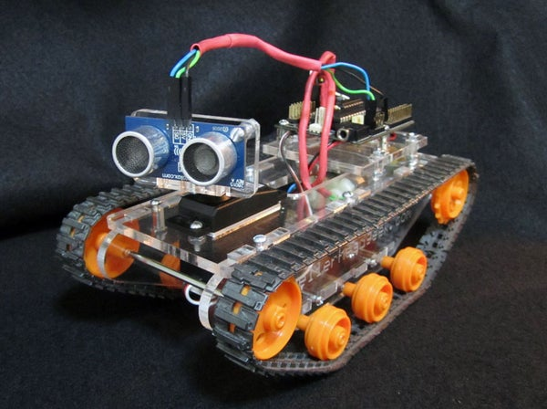 'Little Tank' Robot Arduino/Picaxe/Tamiya Platform