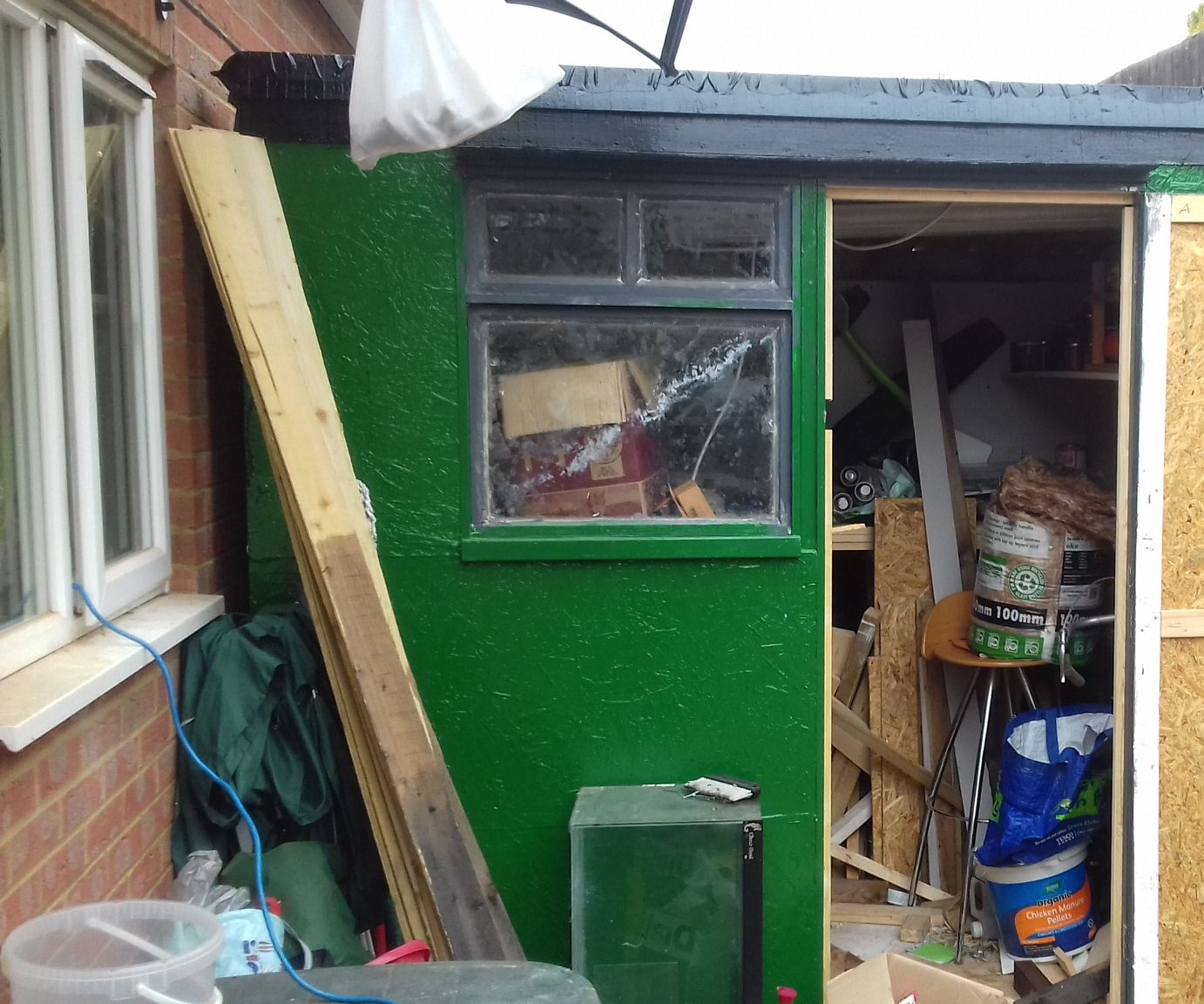 Building a Shed From Scratch