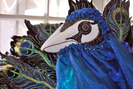 Sparkly Peacock Jowls