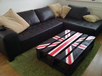 """""""Union Jack"""" Palette Table"""