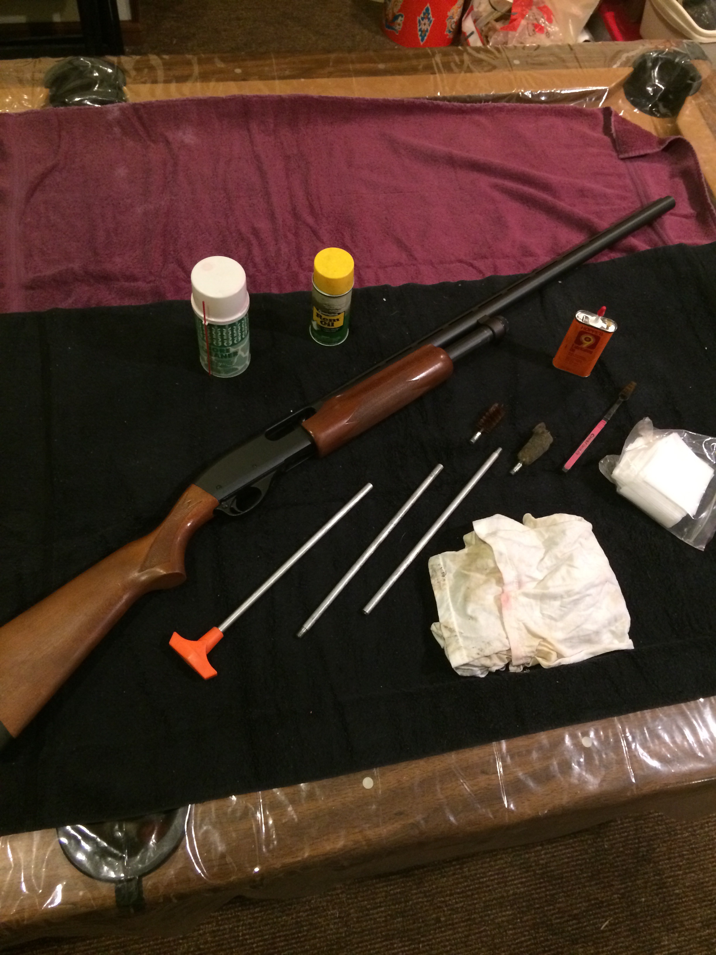 How To Clean A 12 Gauge Remington 870 Shotgun