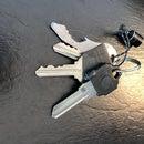 Keycap Secret Compartment