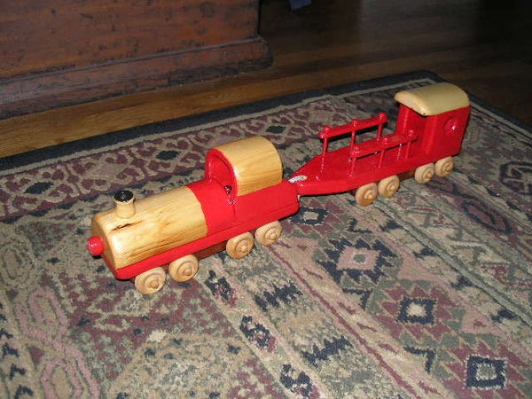 Build a Toy Train to Fight for What's Right