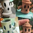 Animal Crossing Gyroid Jar- Ceramic or Sculpey!