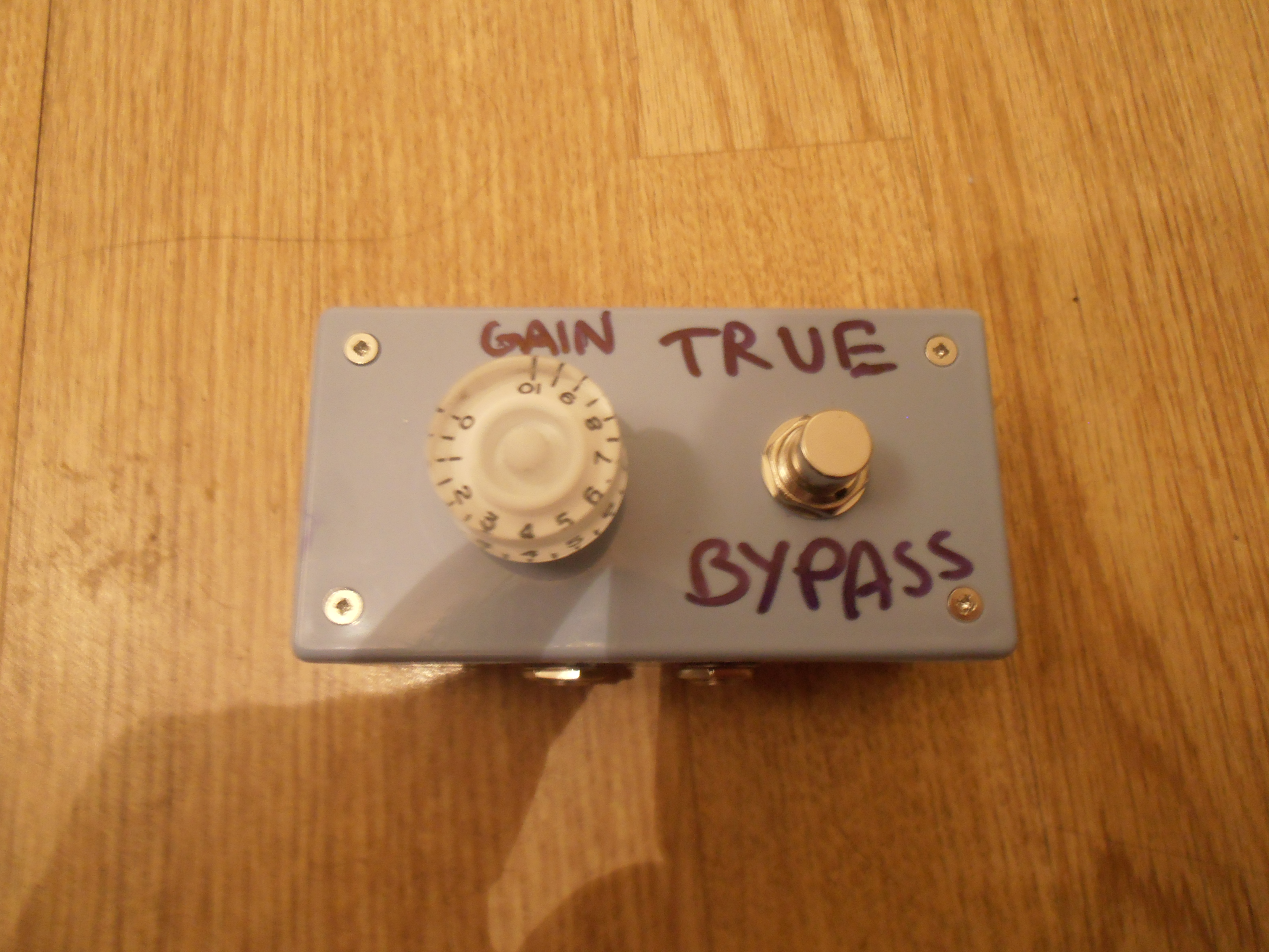 Passive Overdrive Pedal - That's right, NO batteries!
