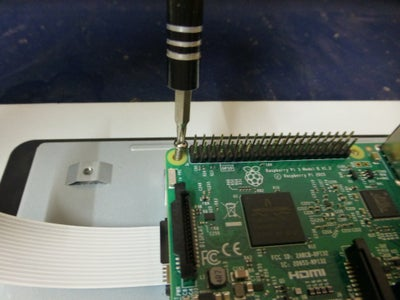 Assemble the Pi Over the Touch Screen Display