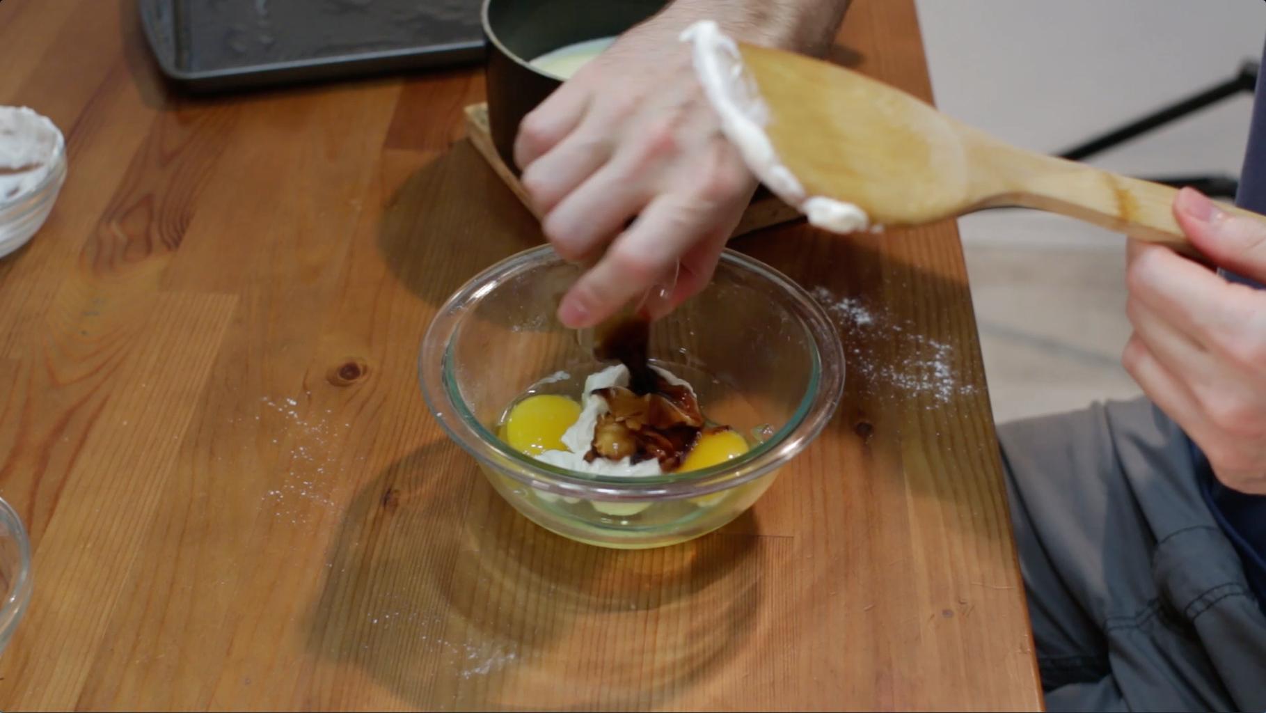 Eggs and Sour Cream