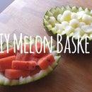 DIY Melon Bowl