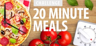 20-Minute Meals Challenge