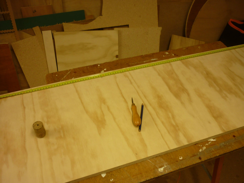Assembling Upper Shelf