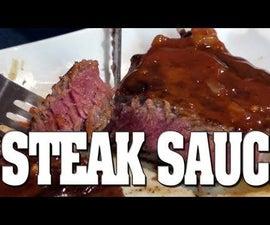 Delicious Steak Sauce Recipe!