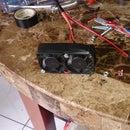 Small fan for soldering
