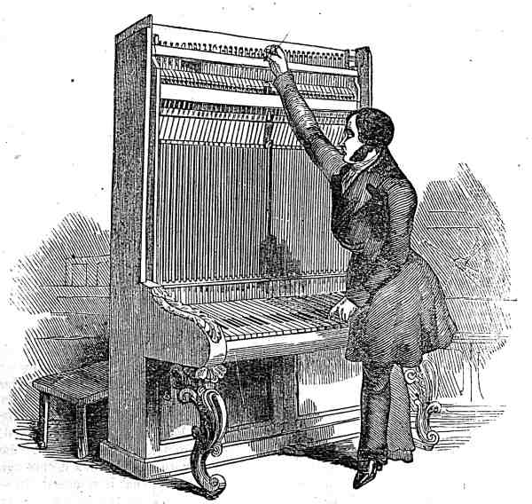 How to Make a Pianoforte, part 1, by W. H. Davies