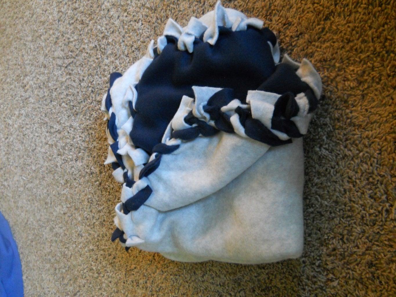 No Sew Braided Blanket