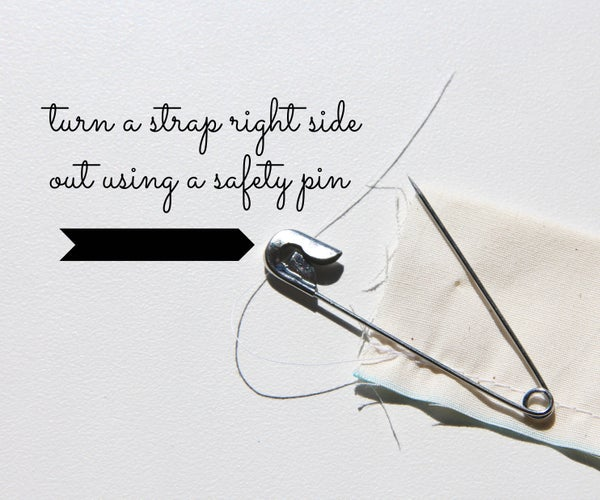 How to Turn a Skinny Piece of Fabric Right Side Out