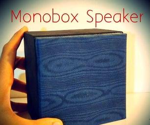 """Monobox 4"""" Amplified Speaker 15W."""