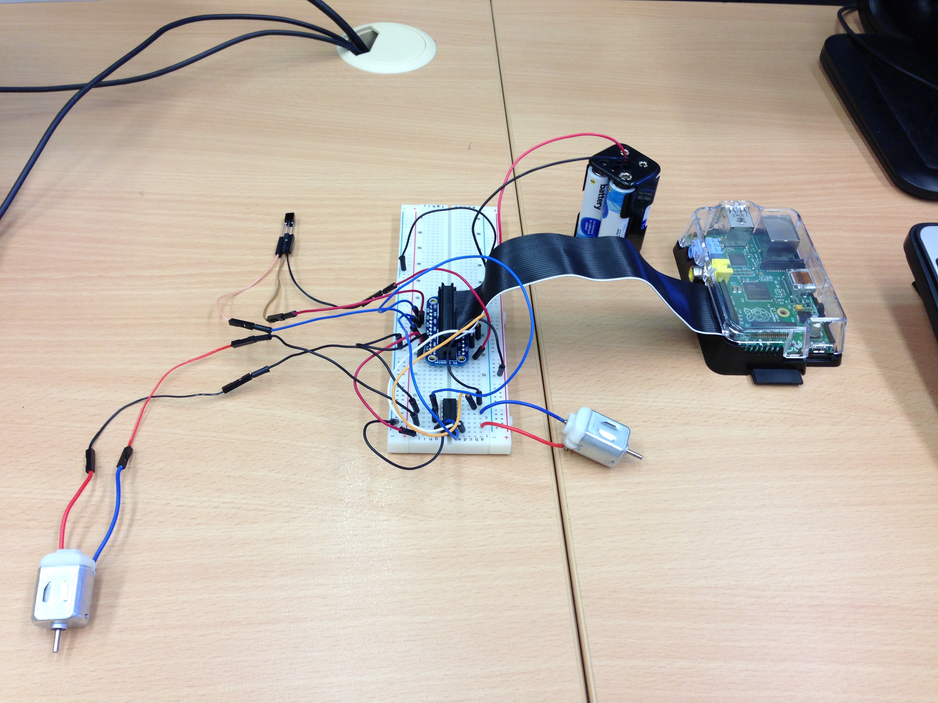 Controlling a Raspberry Pi RC Car With a Keyboard