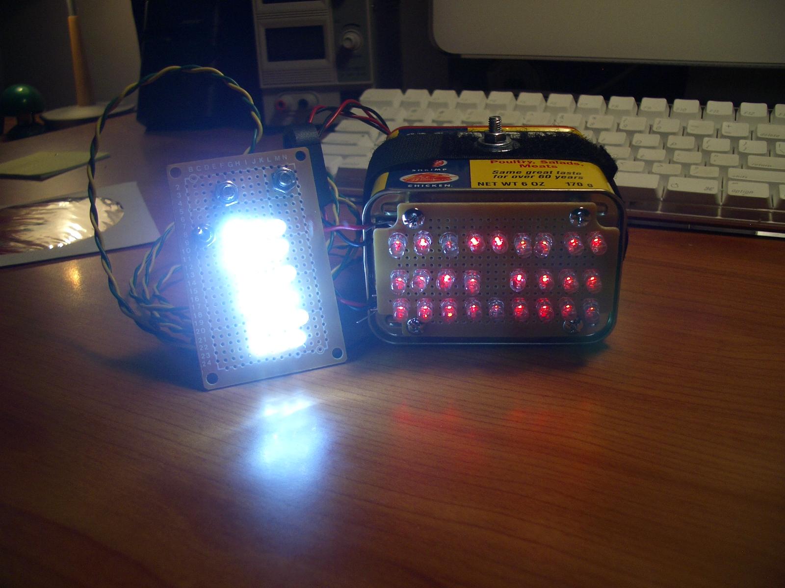 LED Bike Light System