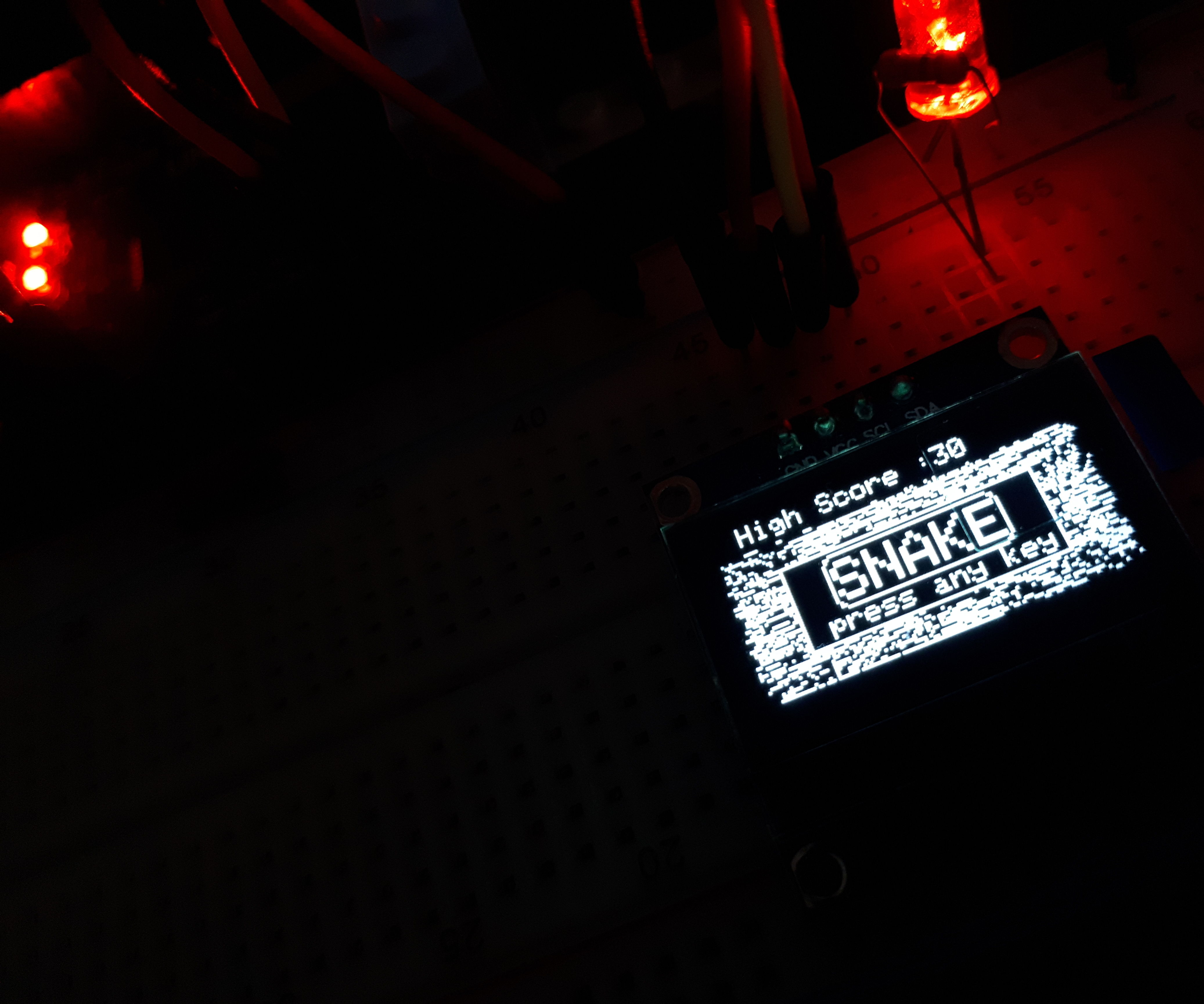 Arduino OLED Snake Game