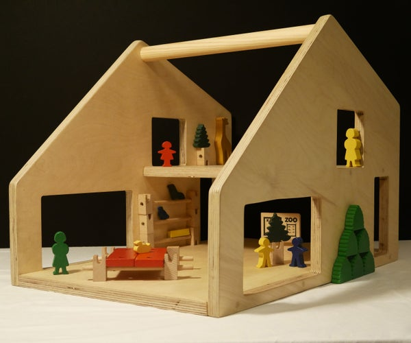 Plywood Dollhouse