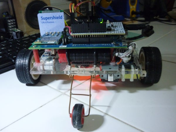 A Phone Controlled Rover (Intel Edison + Blynk + Arduino)