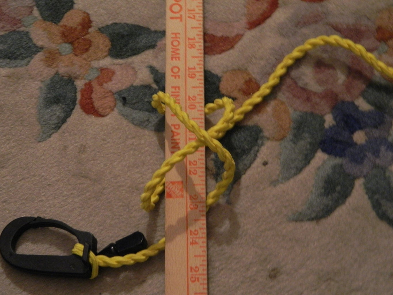 First, Tie a Clove Hitch Like Shown