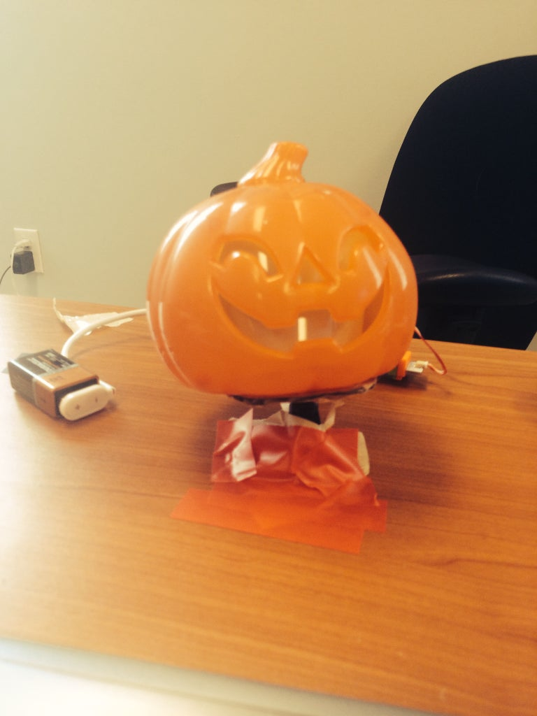 Attach Your Pumpkin to the Table