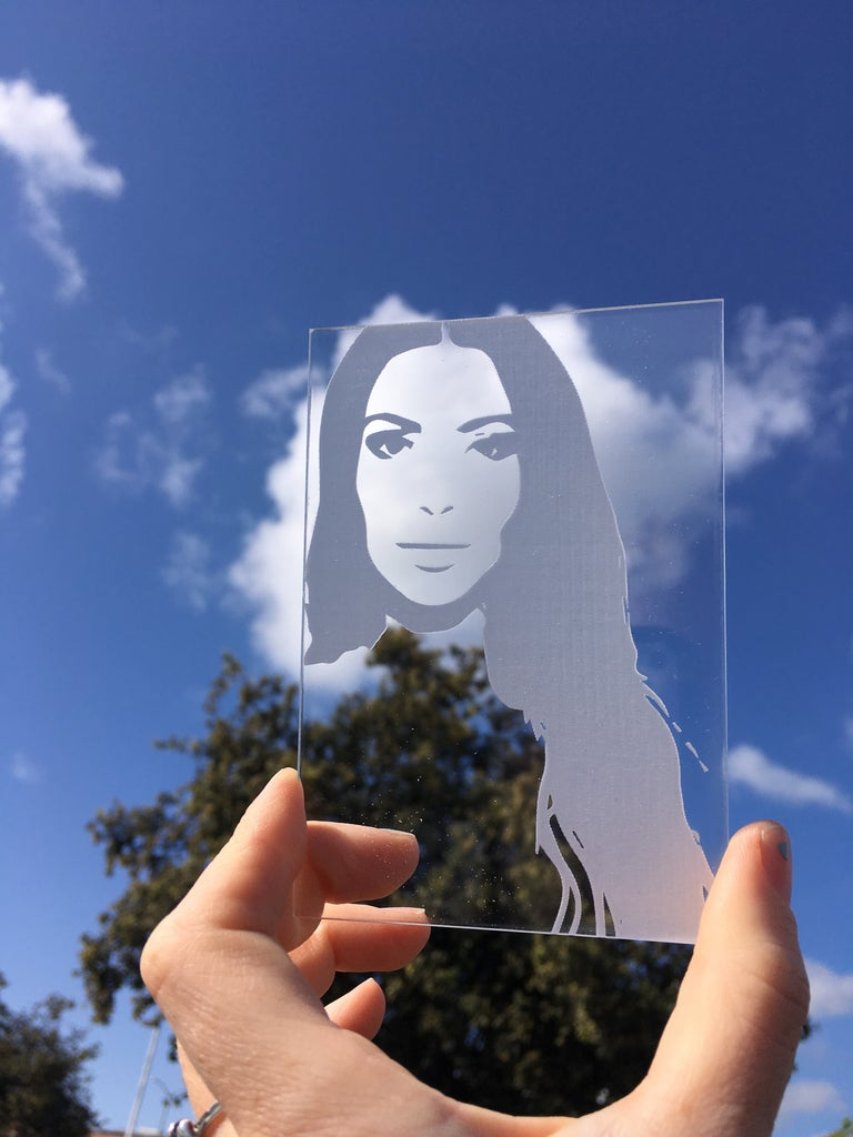 How to Make a Laser Cut Portrait on a ULS Laser Cutter