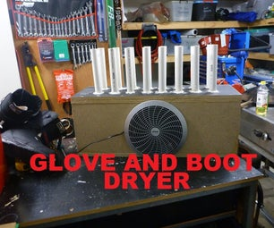 Snow Boot and Glove Dryer
