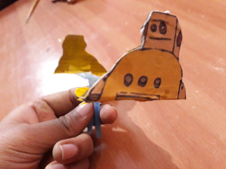 PART 2: INSTRUCTABLES ROBOT DECORATION